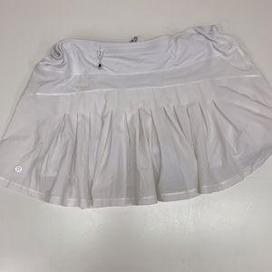 LULULEMON Circuit Breaker Skirt Skort White 12